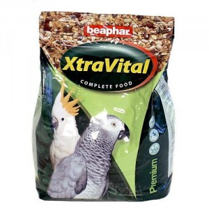 Beaphar Xtra Vital Papegaaienvoer 2.5 kg