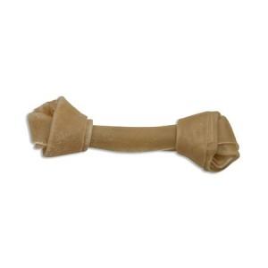 Buffelhuidbot knoop 18 cm voor de hond