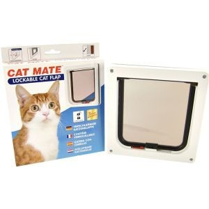Cat Mate 304 Kattenluik Wit