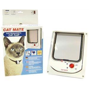 Cat Mate 254 Kattenluik Wit