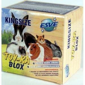 Knaagdier en konijn Accessoires Esve Toyka Knaagblok groot voor knaagdieren Per stuk