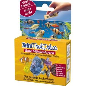 Tetra Fresh Delica Rode Muggelarve per verpakking