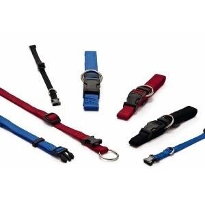 Nylon Halsband XS voor de hond Donkerblauw