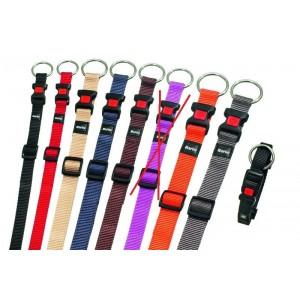 Nylon Halsband M voor de hond Oranje