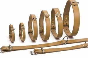 Leren Halsbanden 52 cm voor de hond