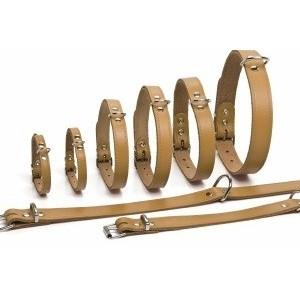 Leren Halsbanden 32 cm voor de hond