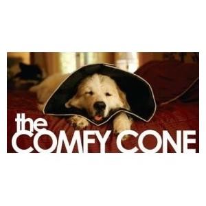 Comfy Cone Zwart voor de hond L