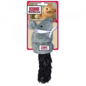 Kong Cat Kickeroo Mouse kattenspeelgoed Per stuk