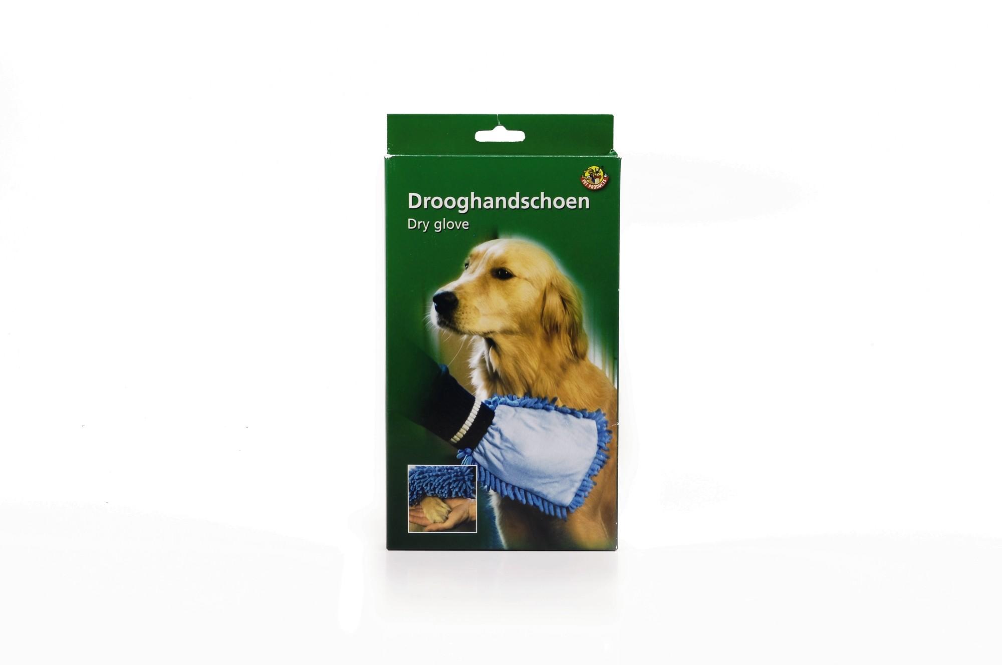 Van Riel Drooghandschoen Microvezel voor de hond