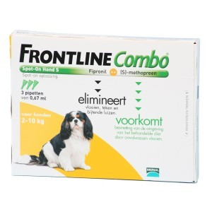 Frontline small hond combo spot on 3 pack
