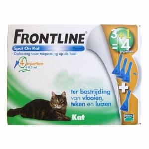 Frontline Kat 4 pipetten 4 pipetten