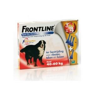 Frontline 6 pipet hond spot on xl