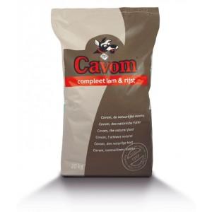Cavom Compleet Lam Rijst Hondenvoer 20 kg