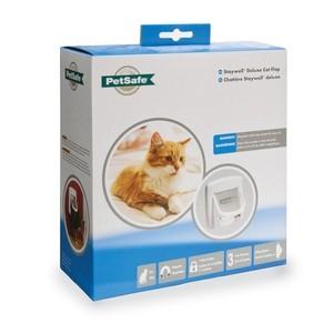 Staywell 400 magnetisch kattenluik Wit