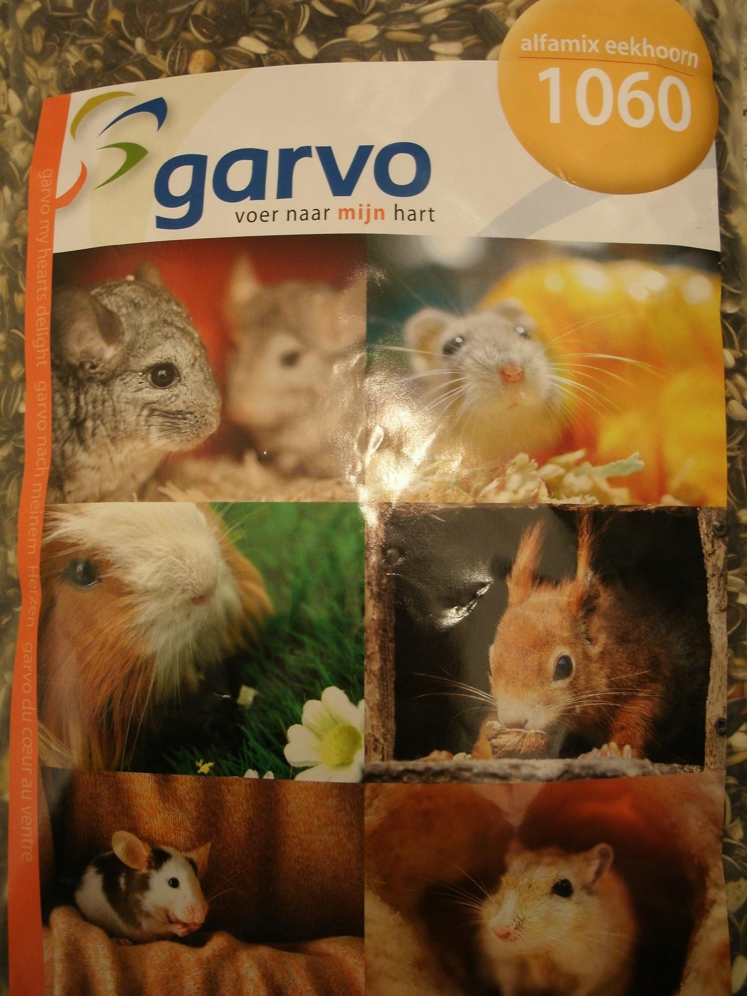 Garvo eekhoornvoer