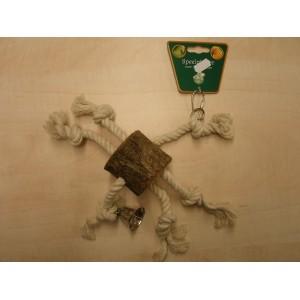 Boon Boomstam met Touwen 020 1616 Vogelspeelgoed Per stuk
