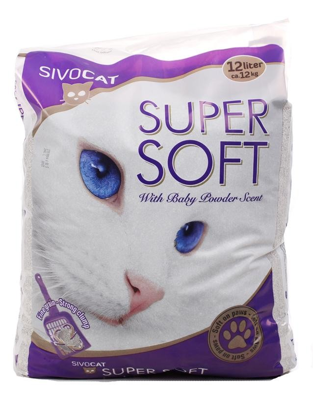 Sivocat Supersoft Kattengrit