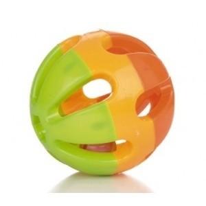Kleine Speelbal Driekleur voor Konijnen