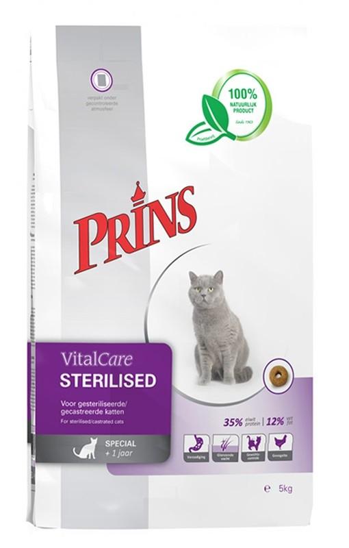 Prins VitalCare Sterilised kattenvoer