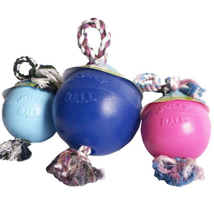 Jolly Ball Romp-n-Roll medium (15 cm) voor honden