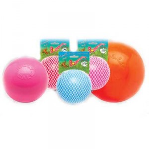 Jolly Ball Bounce n Play medium (15 cm) voor honden Oranje OP is OP