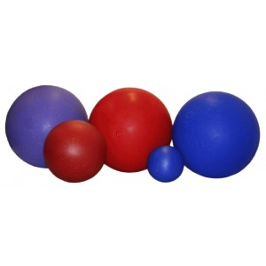 Jolly Ball Push and Play Medium (25 cm) voor de hond Blauw