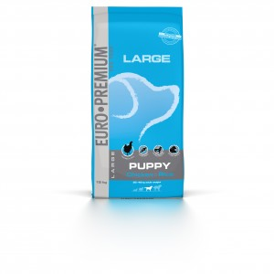 Euro Premium Large Puppy Chicken & Rice hondenvoer
