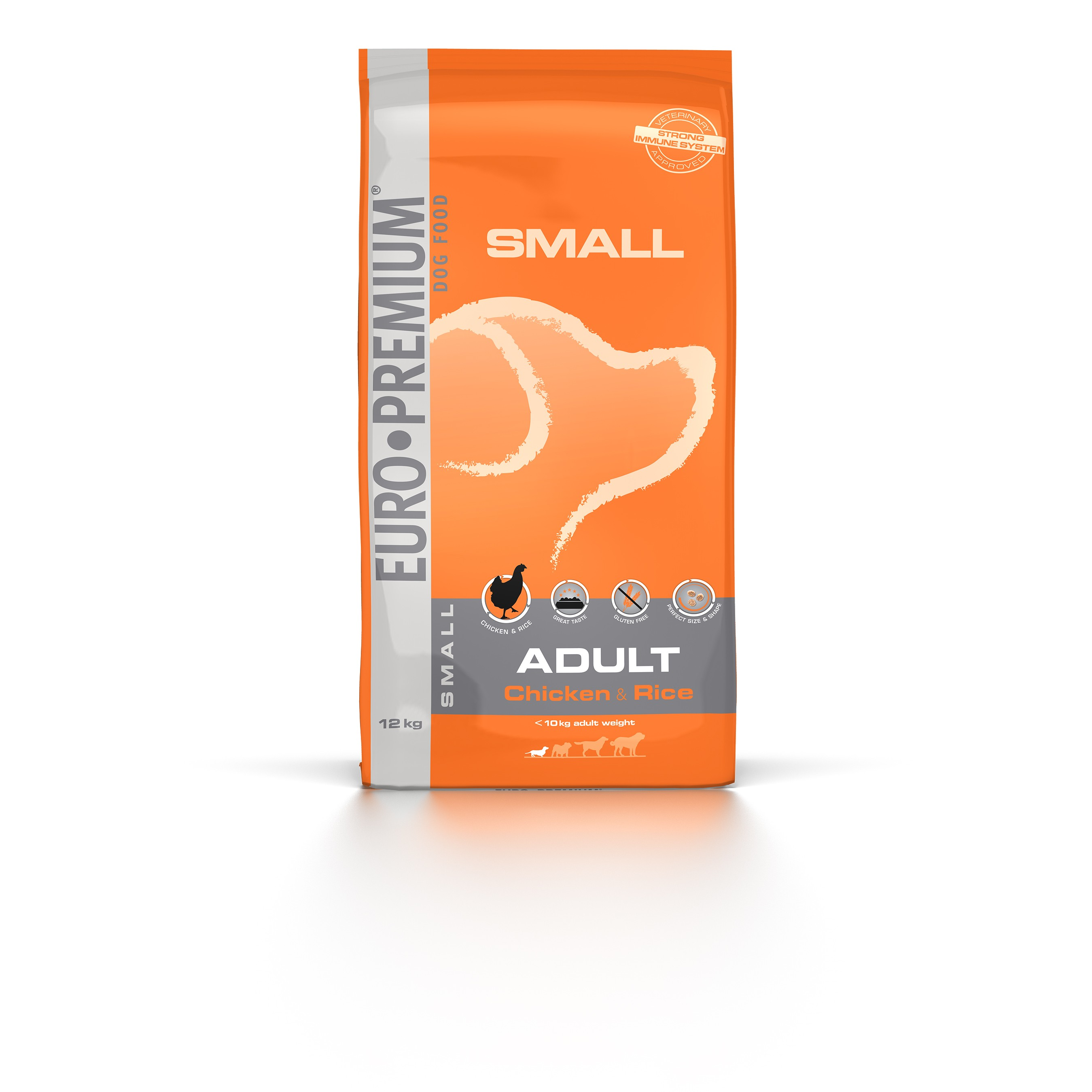 Euro Premium Small Adult Chicken & Rice hondenvoer