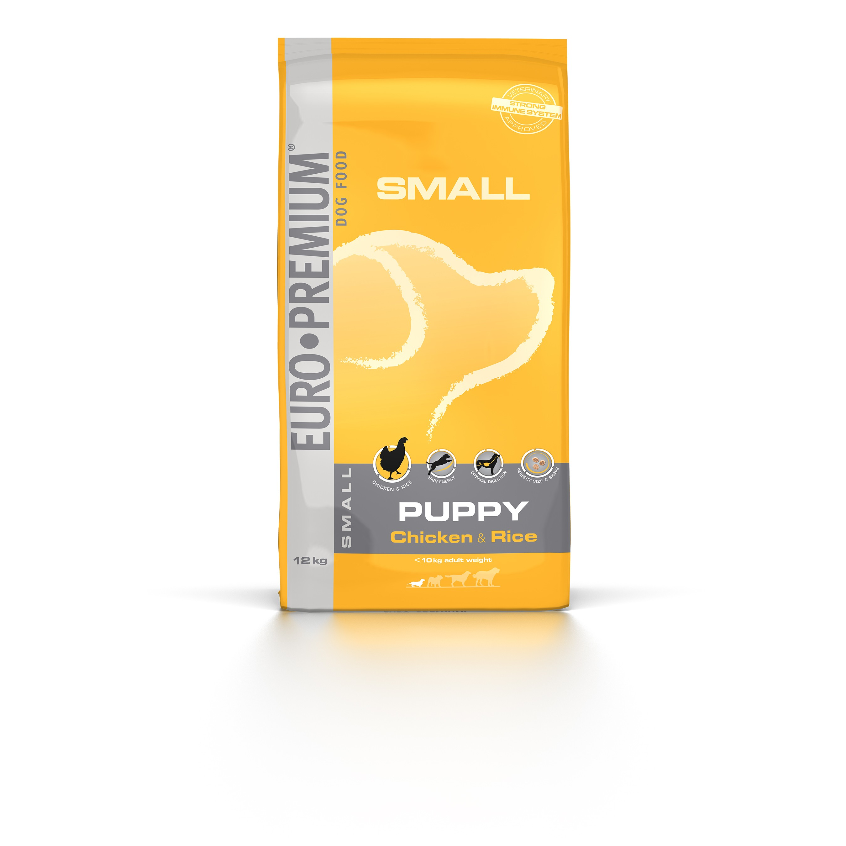 Euro Premium Small Puppy Chicken & Rice hondenvoer