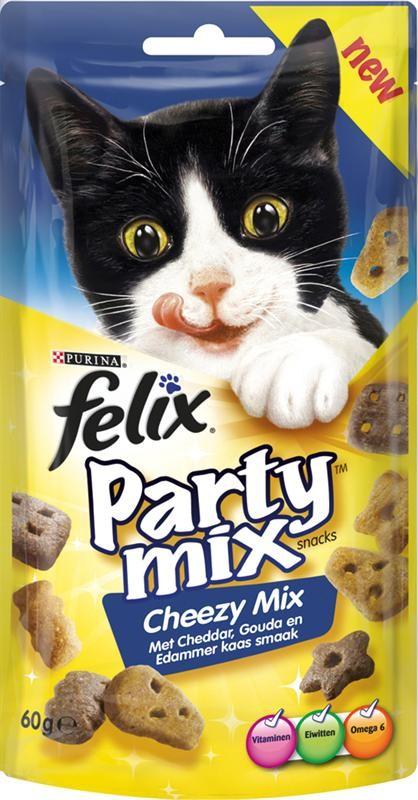 Felix Party Mix Cheezy kattensnoep