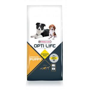 Opti Life Puppy Medium hondenvoer 12.5 kg