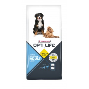 Opti Life Adult Light Medium/Maxi hondenvoer