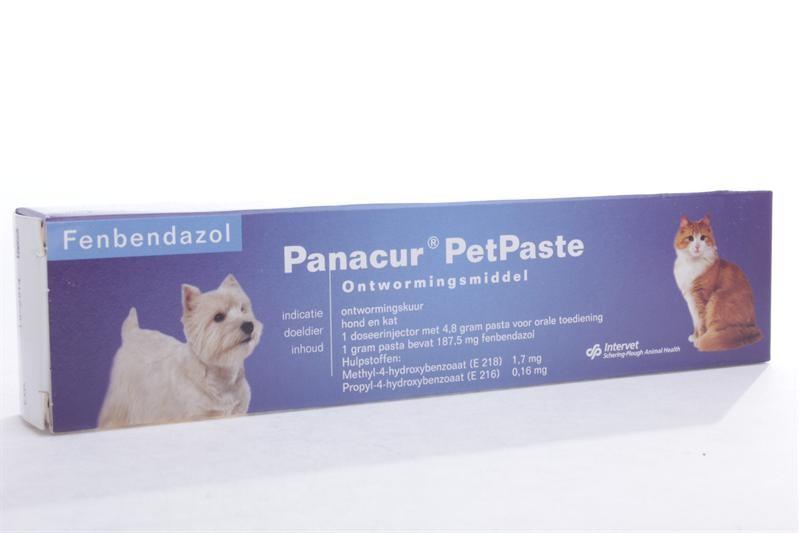 Panacur PetPaste Ontwormingspasta voor hond en kat
