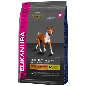 Eukanuba Adult medium breed Hondenvoer 3 kg