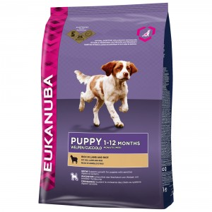 Eukanuba Puppy Lam & Rijst hondenvoer