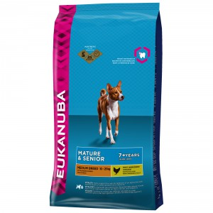 Eukanuba Mature senior medium breed Hondenvoer 12 kg