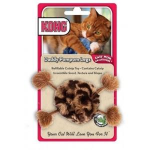 Kong Catnip Toy Daddy Pompom Legs Per stuk