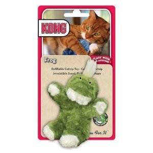 Kong Catnip Toy Frog Per stuk