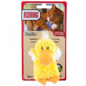 Kong Catnip Toy Duckie Per stuk