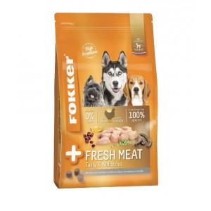 Fokker Adult +Fresh Meat hondenvoer