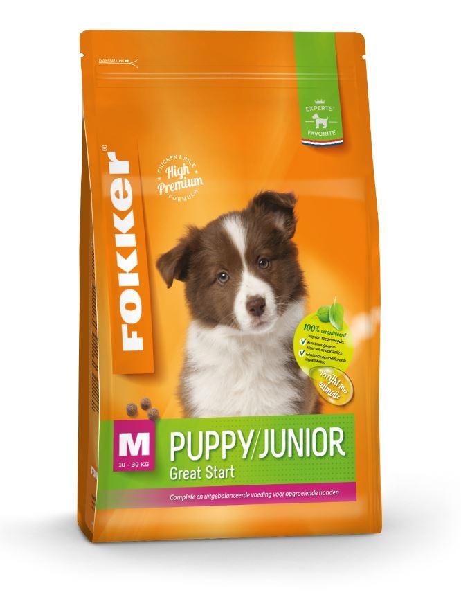 Fokker Puppy/Junior M hondenvoer