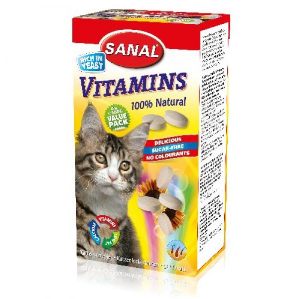 Sanal Vitamins Kattensnoep