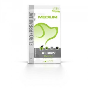 Euro Premium Medium Puppy Derma+ Salmon & Rice hondenvoer