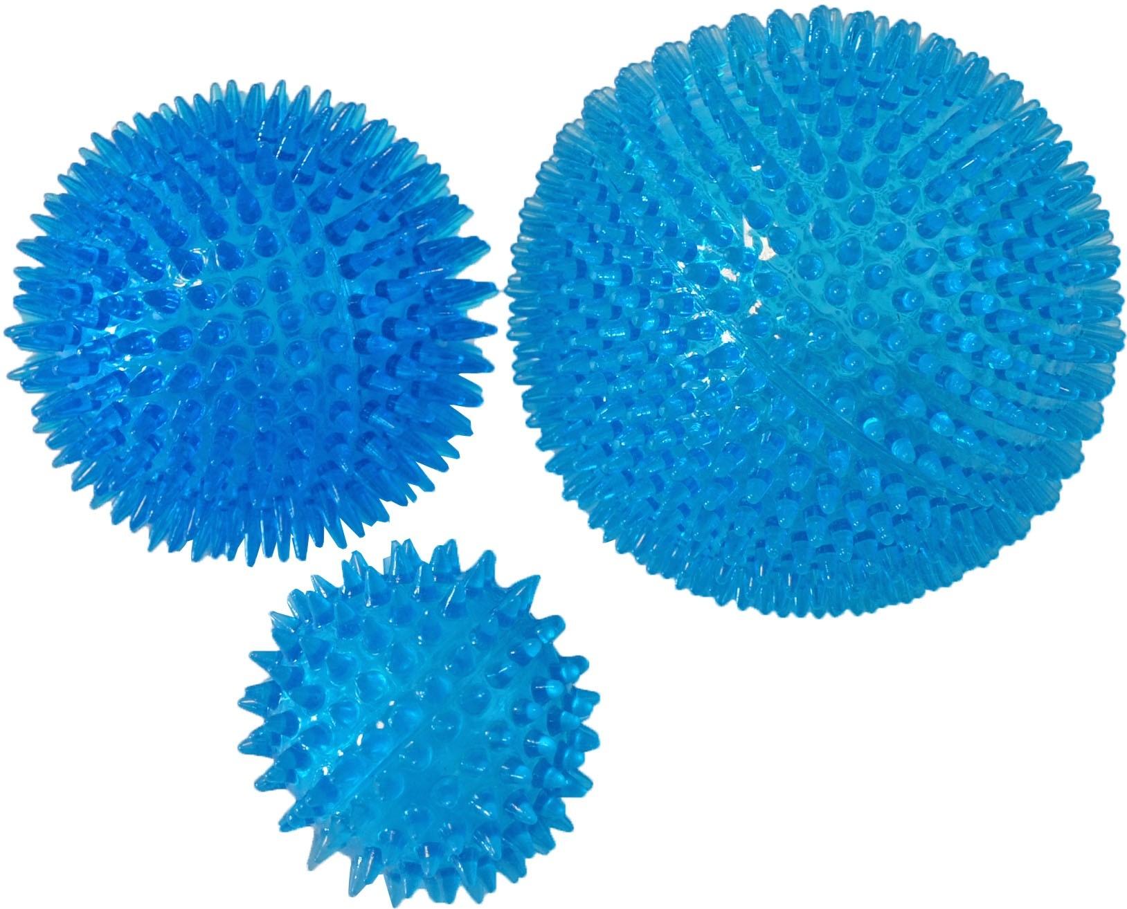 Drijvende Bal Met Stekels Blauw