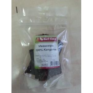 Barf-Time Vleesstrips Kangoeroe hondensnacks Per verpakking
