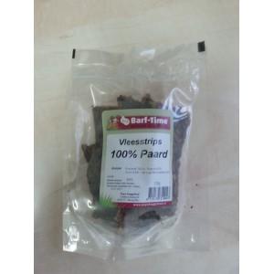 Barf-Time Vleesstrips Paard hondensnacks per verpakking