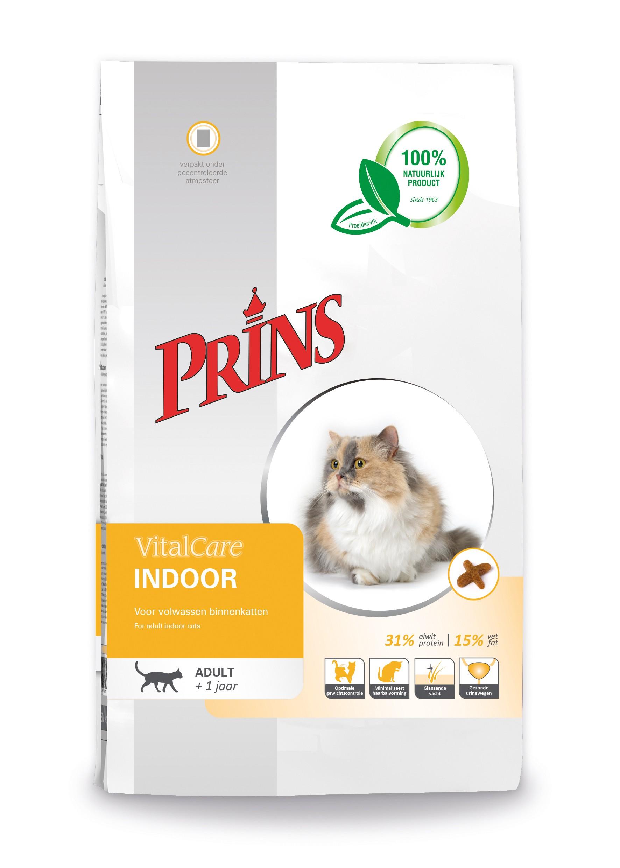 Prins VitalCare Indoor kattenvoer