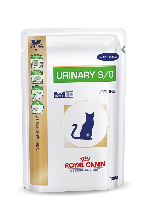 Royal Canin Veterinary Diet Urinary S/O Chicken 12 zakjes kattenvoer