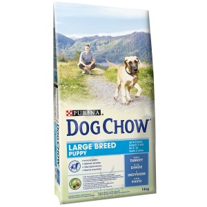 Dog Chow Puppy Largebreed hondenvoer 14 kg
