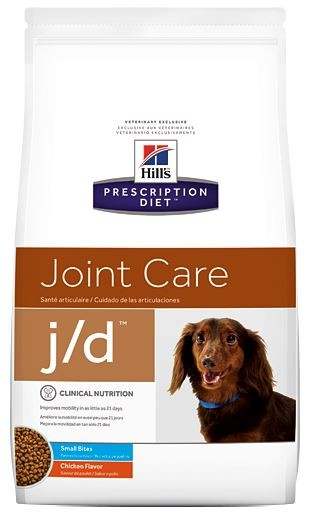 Hill's Prescription Diet J/D Mini hondenvoer